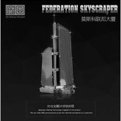 3D METAL MODEL_FEDERATION SKYSCRAPER_1/3953
