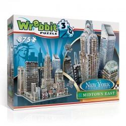 WREBBIT_PUZZLE 3D_MISTOWN EAST (NEWYORK COLLECTION)_875pcs.