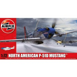 AIRFIX_ NORTH AMERICAN P-51D MUSTANG_ 1/72