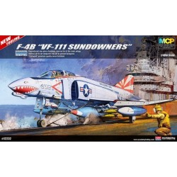 "ACADEMY_USN F-4B ""VF-111 SUNDOWNERS"" (MCP)_1/48"