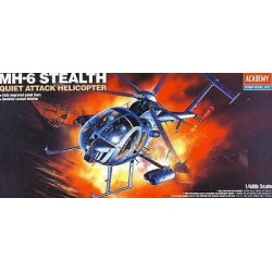 ACADEMY_ MH-6 STEALTH, QUIET ATTACK HELICOPTER_ 1/48