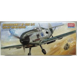 "ACADEMY_ MESSERSCHMITT BF109E-3/4 ""HEINZ BAR WITH KETTENKRAD_ 1/72"