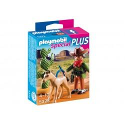 PLAYMOBIL_SPECIAL PLUS_VAQUERO CON POTRO