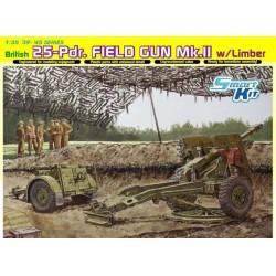 BRITISH 25-Pdr. FIELD GUN...