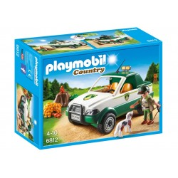 PLAYMOBIL_ COUNTRY_ GUARDABOSQUES CON PICK-UP