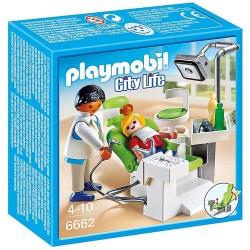 PLAYMOBIL_ CITY LIFE_ DENTISTA CON PACIENTE
