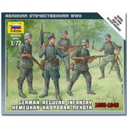 ZVEZDA_GERMAN REGULAR INFANTRY 1939-1943_1/72