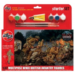 AIRFIX_MULTIPOSE WWII BRITISH INFANTRY FIGURES_1/32