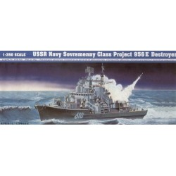 TRUMPETER_USSR NAVY SOVREMENNY CLASS PROJECT 956E DESTROYER_1/350