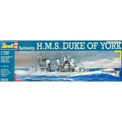 REVELL_HMS DUKE OF YORK BATTLESHIP