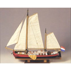 CONSTRUCTO 80831_Silhouet, Groningen 1893.  Barco Fluvial_ 1/60