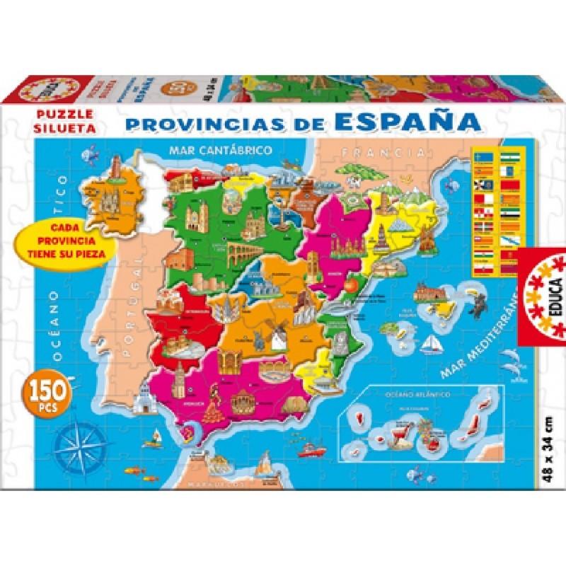 EDUCA_PROVINCIAS DE ESPAÑA_PUZZLE 150pcs.