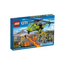 LEGO_CITY_VOLCAN: HELICOPTERO DE SUMINISTROS