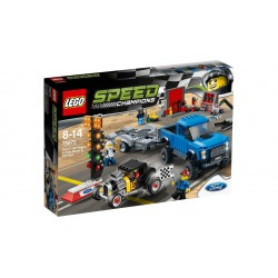 LEGO_SPEED CHAMPIONS_FORD F-150 RAPTOR & FORD MODEL A HOT ROD