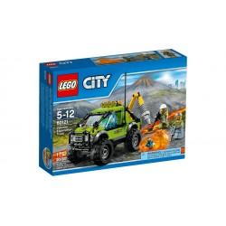 LEGO_CITY_VOLCAN: CAMION DE EXPLORACION