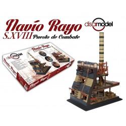 DISAR MODEL_NAVIO RAYO S.XVIII. PUESTO DE COMBATE_1/32