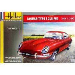 HELLER_JAGUAR TYPE E 3L8 FHC_1/24