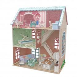 CUBIC FUN_PIANIST'S HOME - DREAM DOLLHOUSE - 3D PUZZLE
