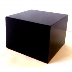 PEANA TACO RECTANGULAR 7x7x5cm COLOR NEGRO