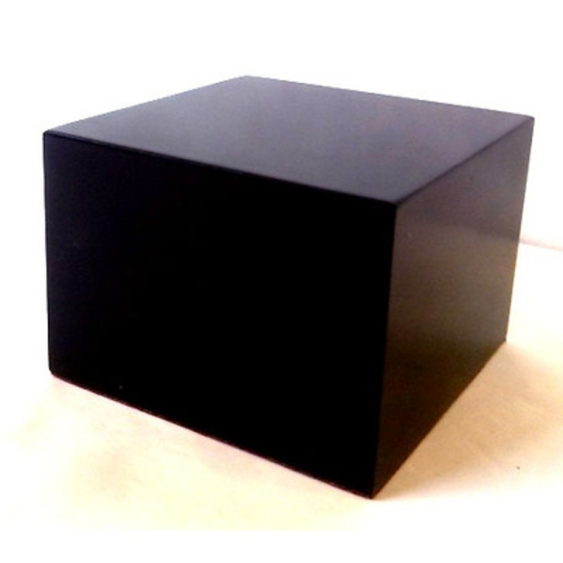 PEANA TACO RECTANGULAR 7x7x5cm COLOR NEGRO