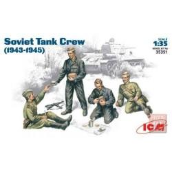 ICM_SOVIET TANK CREW_1/35
