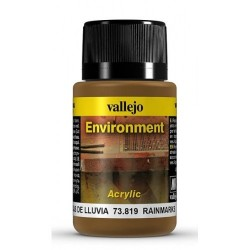 VALLEJO_WEATHERING EFFECTS_ENVIROMENT_MARCAS DE LLUVIA 40ml.
