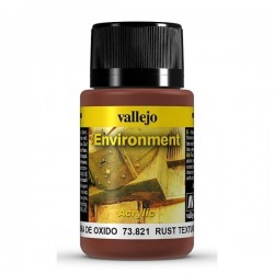 VALLEJO_WEATHERING EFFECTS_ENVIROMENT_TEXTURA DE OXIDO 40ml.