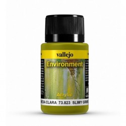 VALLEJO_WEATHERING EFFECTS_ENVIROMENT_SUCIEDAD HUMEDA CLARA 40ml.
