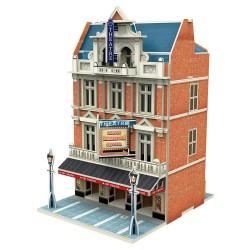 CUBIC FUN_ LONDON JIGSCAPE H0 AUCTION HOUSE & STORES, 3D PUZZLE
