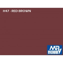 HOBBY COLOR_RED BROWN_GLOSS_GERMAN TANK WWII