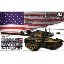 AFV CLUB_M60A3 TTS PATTON MAIN BATTLE TANK_1/35
