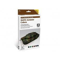VALLEJO_ AFV PAINTING SYSTEM_ VERDE RUSO. 6x8ml