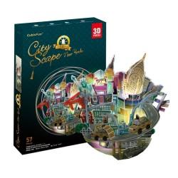 CUBIC FUN_NEW YORK, TIMES SQUARE - MAGIC BOX - 3D PUZZLE