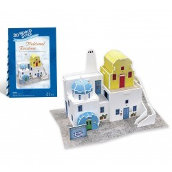 CUBIC FUN_ TRADITIONAL RESIDENCE, 3D PUZZLE