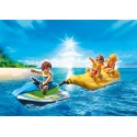 PLAYMOBIL_ FAMILY FUN_ MOTO DE AGUA CON BANANA