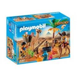 PLAYMOBIL_ HISTORY_ CAMPAMENTO EGIPCIO
