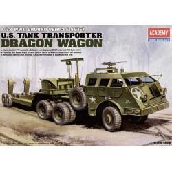 ACADEMY_ DRAGON WAGON. US TANK TRANSPORTER_ 1/72