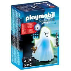 PLAYMOBIL_ KNIGHTS_ FANTASMA CON LUZ LED (CAMBIA DE COLORES)