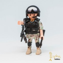 PLAYMOBIL CUSTOM_ EJERCITO USA RANGER