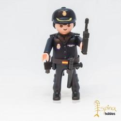 PLAYMOBIL CUSTOM_ POLICIA NACIONAL PELO NEGRO