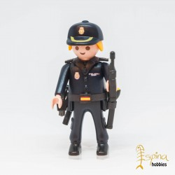 PLAYMOBIL CUSTOM_ POLICIA NACIONAL PELO RUBIO