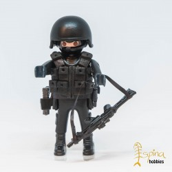 PLAYMOBIL CUSTOM_ POLICIA NACIONAL GEO'S