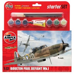 AIRFIX_ BOULTON PAUL DEFIANT Mk.I_ STARTER SET_ 1/72
