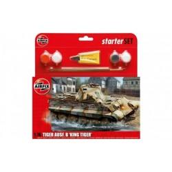 "AIRFIX_ Pzkw VI Ausf.B ""KING TIGER"" (STARTER SET)_ 1/76"