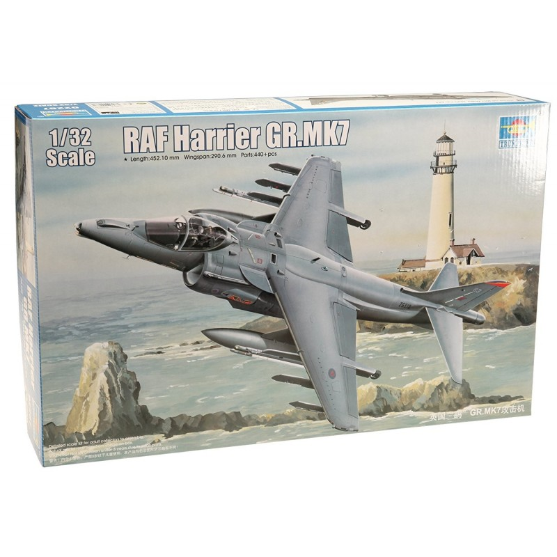 TRUMPETER_RAF HARRIER GR.MK7_1/32