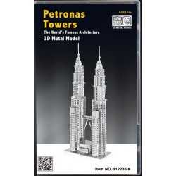3D METAL MODEL_ PETRONAS TOWERS