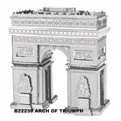 3D METAL MODEL_ARCH OF TRIUMPH