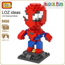LOZ_ IBLOCK FUN_ SPIDERMAN (240 piezas)