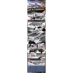 "Academy_USN F-4B ""VF-111 Sundowners"" (MCP)_1/48 perfiles"