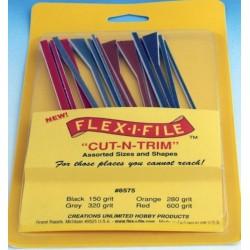 "FLEX-I-FILE_ ""CUT-N-TRIM"" SET DE LIMAS FLEXIBLES"